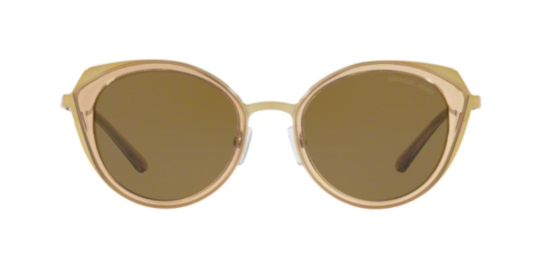 Michael Kors Charleston Gold / Olive Lens Solid Polarized Sunglasses