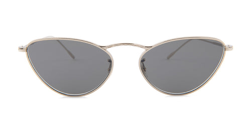 Oliver Peoples Lelaina Gold / Gray Lens Sunglasses