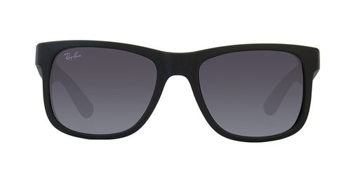 Ray Ban - Justin Black Rectangular Unisex Sunglasses - 51mm