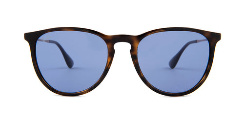 Ray Ban - Erika Havana/Violet Oval Unisex Sunglasses - 54mm