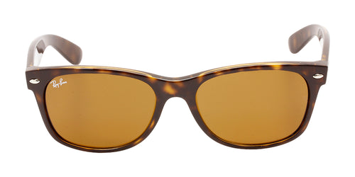 Ray Ban - New Wayfarer Tortoise/Brown Unisex Sunglasses - 55mm