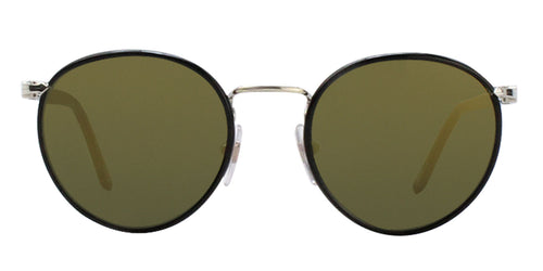 Persol PO2422SJ Black / Gold Lens Mirror Sunglasses