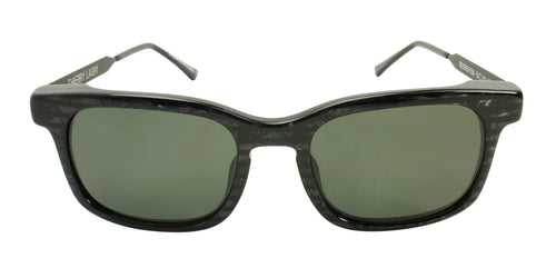 Thierry Lasry Reversy Black / Green Lens Sunglasses