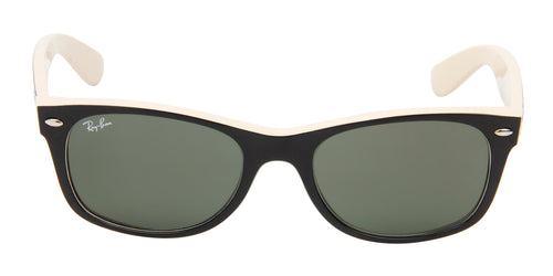 Ray Ban - New Wayfarer Black Wayfarer Men, Women Sunglasses - 52mm