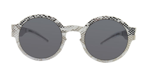 Mykita MMTransfer003 White / Gray Lens Sunglasses