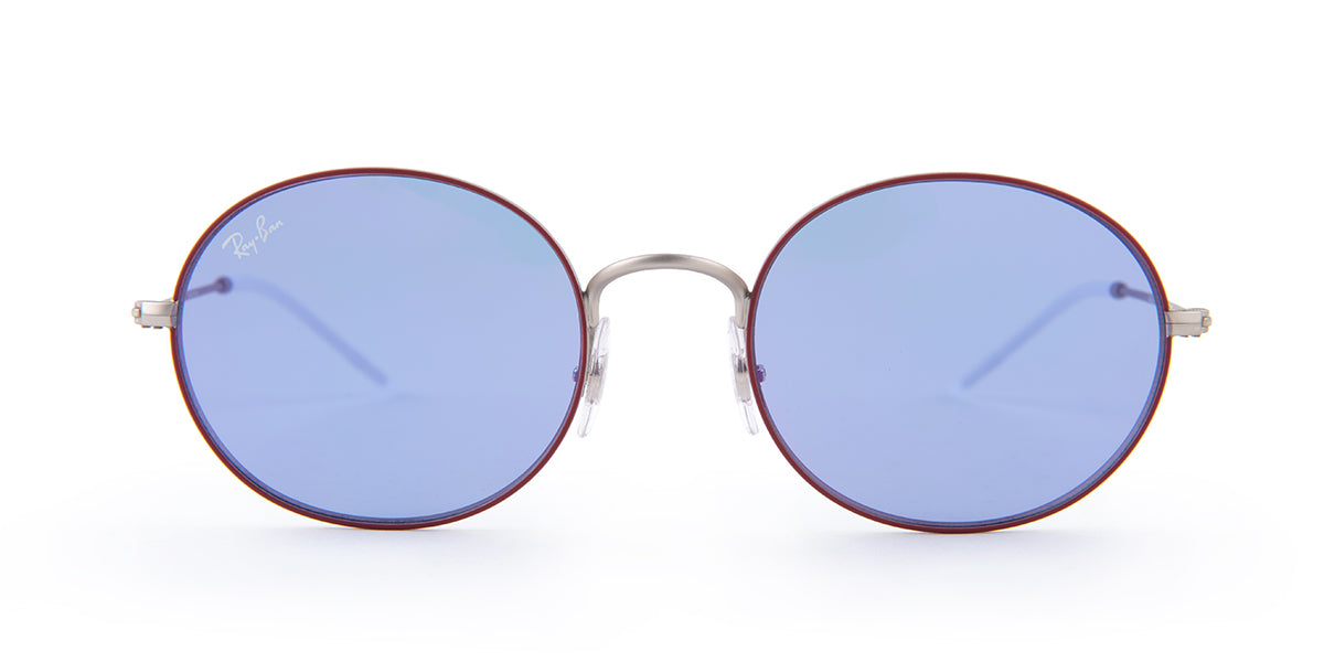 Ray Ban - RB3594 Red Round Women Sunglasses - 53mm