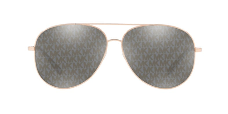 Michael Kors Kendall Rose Gold / Lavendar Lens Mirror Sunglasses
