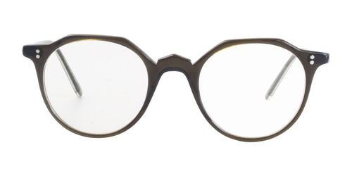 Oliver Peoples OP-L 30th Brown / Clear Lens Eyeglasses