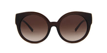 Michael Kors Adelaide Brown / Brown Lens Sunglasses