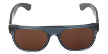 Retrosuperfuture - Flat Top Blue Oval Men, Women Sunglasses - mm