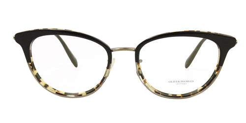 Oliver Peoples Theadora Black / Clear Lens Eyeglasses