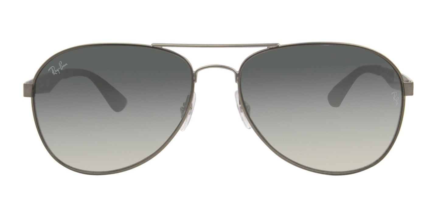 Ray Ban - RB3549 Gray Aviator Unisex Sunglasses - 61mm