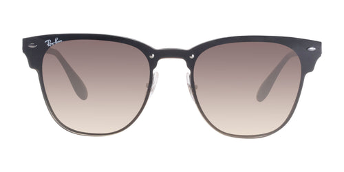 Ray Ban - Blaze Clubmaster Brown Oval Unisex Sunglasses - 47mm