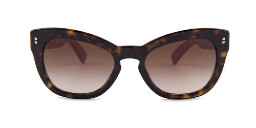 Valentino VA4037 Havana / Brown Lens Sunglasses