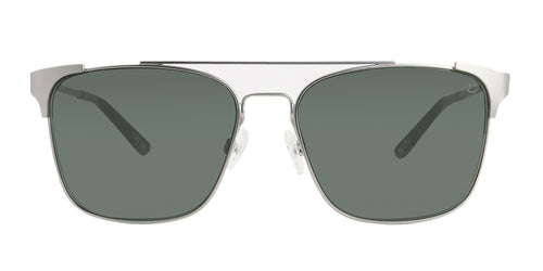 Spy Wingate Silver / Green Lens Sunglasses