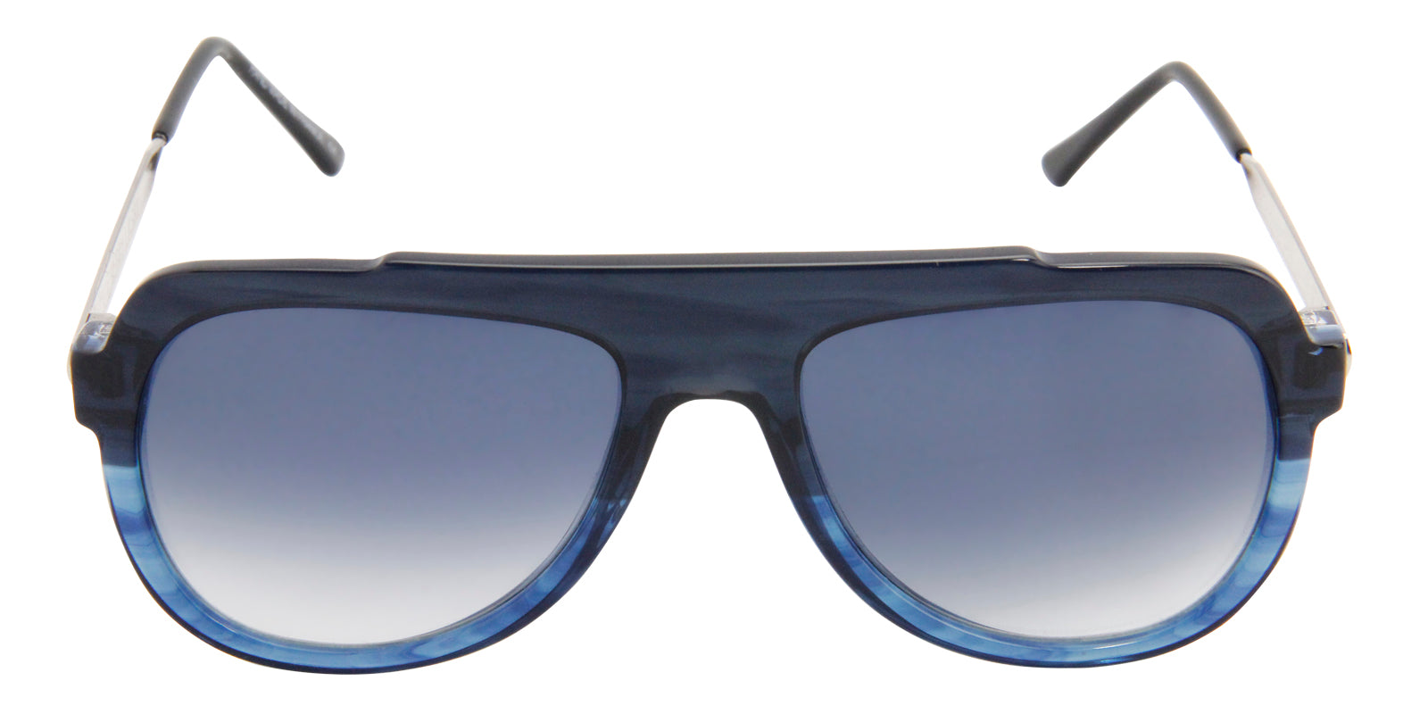 Thierry Lasry - Staminy Blue Aviator Men, Women Sunglasses - 58mm
