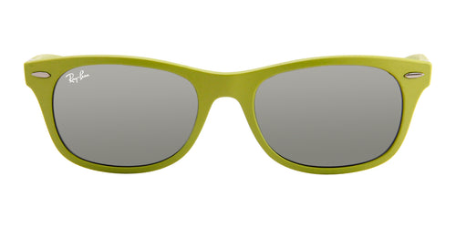 517d269051 Ray-Ban Unisex RB4207 Green   Silver Lens Sunglasses