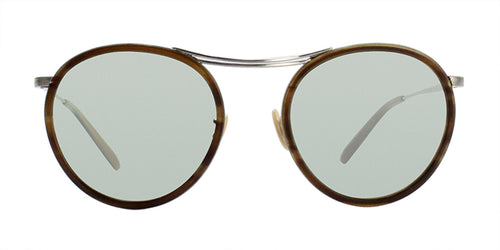 Oliver Peoples MP-30TH Silver / Green Lens Sunglasses