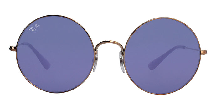 Ray Ban - RB3592 Bronze/Blue Oval Unisex Sunglasses - 55mm