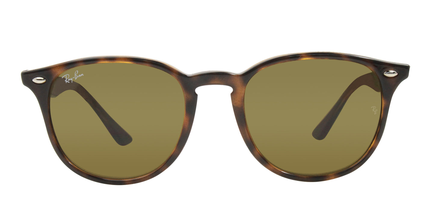 Ray Ban - RB4259 Tortoise/Brown Oval Unisex Sunglasses - 51mm