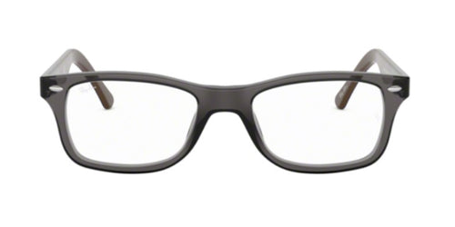 Ray Ban Rx - RB5228 Gray Square Unisex Eyeglasses - 50mm