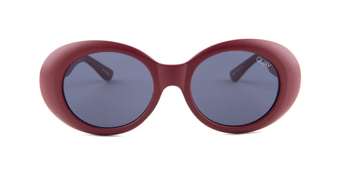 Quay Australia Frivolous Red / Blue Lens Sunglasses