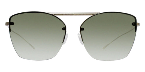 Oliver Peoples Ziane Gold / Green Lens Sunglasses