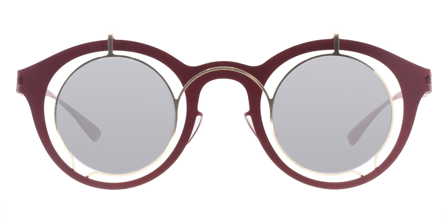 Mykita Bradfield Red / Gray Lens Sunglasses