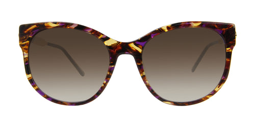 Thierry Lasry Anorexxxy Tortoise / Brown Lens Sunglasses