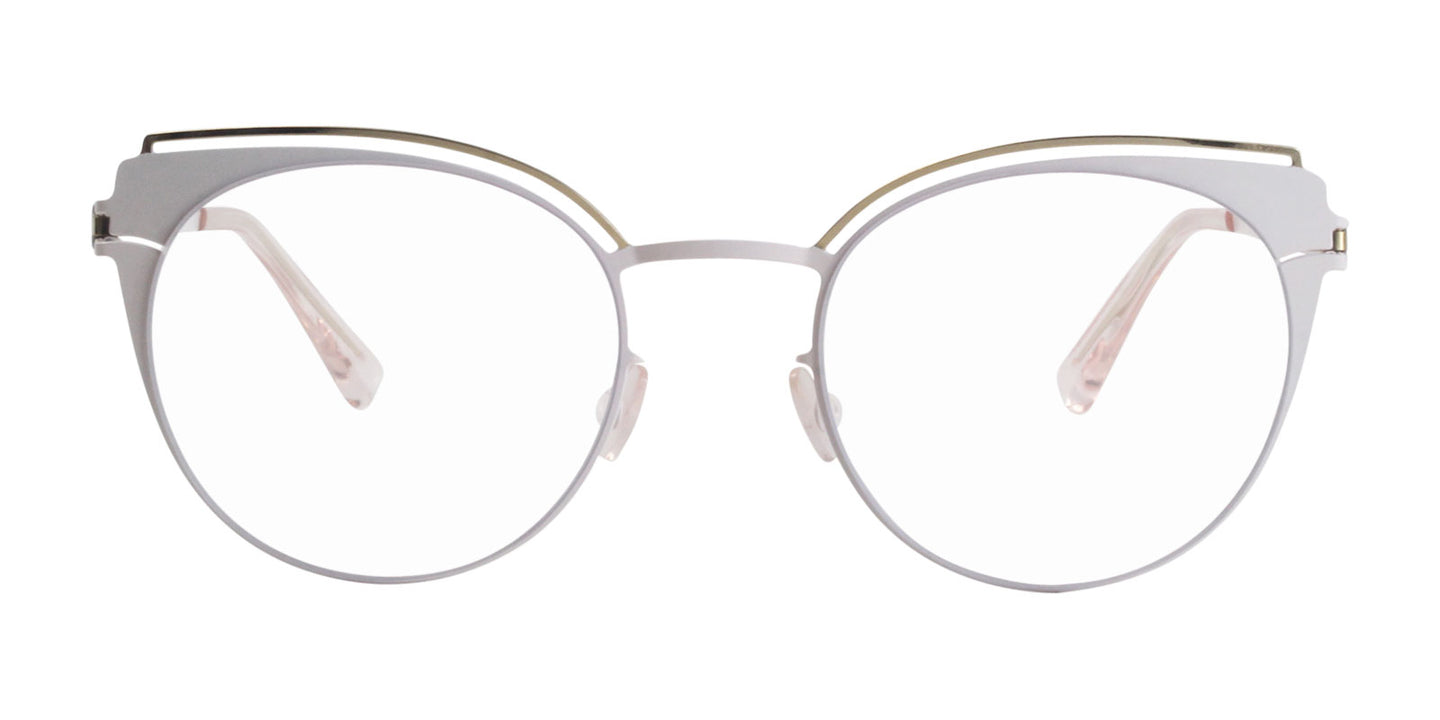 Mykita - Tata White/Clear Oval Women Eyeglasses - 50mm