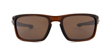 Oakley - Silver Stealth Brown/Brown Square Unisex Sunglasses - 56mm