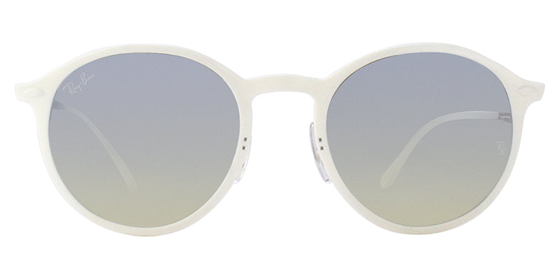 Ray Ban - RB4286 White/Silver Mirror Oval Unisex Sunglasses - 49mm
