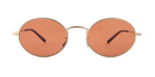 Oliver Peoples Empire Suite Gold / Red Lens Sunglasses