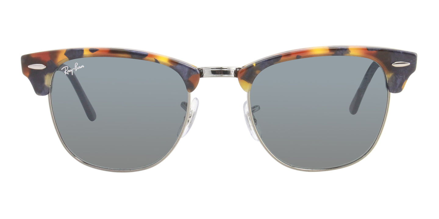 Ray Ban - Clubmaster Tortoise/Blue Oval Unisex Sunglasses - 51mm
