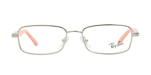 Ray Ban Rx - RY1035 Silver Rectangular Kids Eyeglasses - 47mm