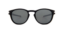 Oakley - Latch Black/Gray Oval Unisex Sunglasses - 53mm