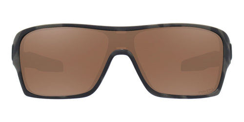 Oakley - Turbine Rotor Gray/Brown Shield Men Sunglasses