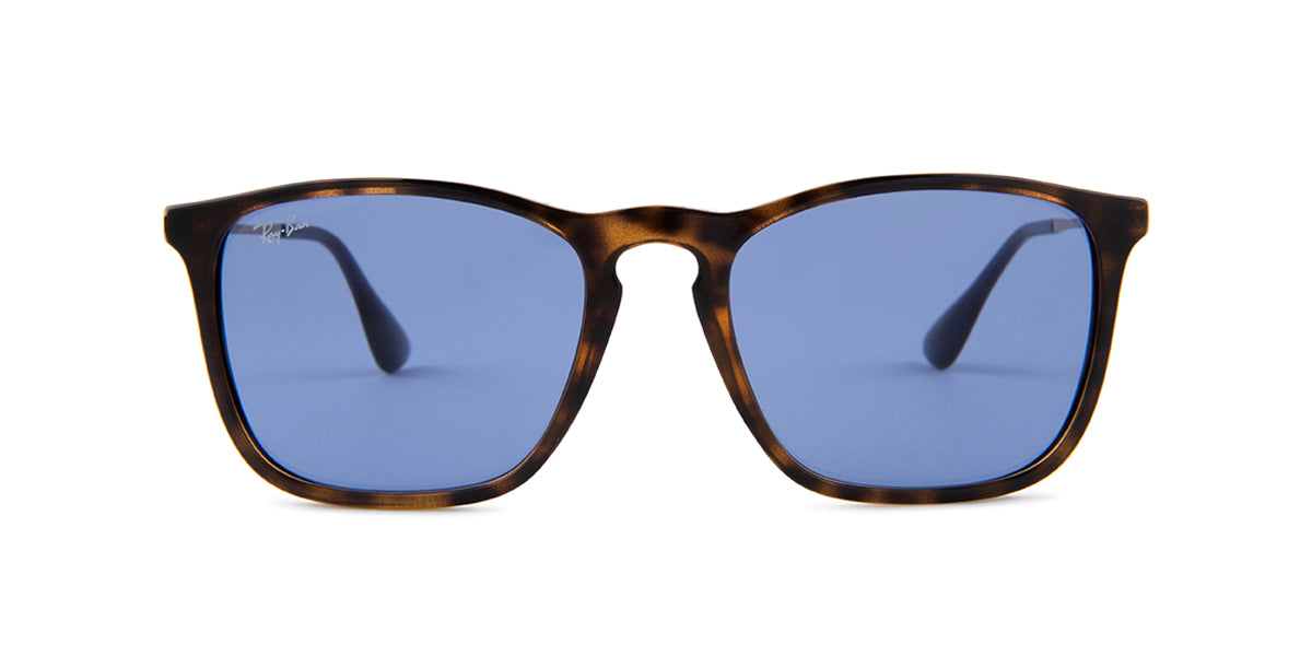 Ray Ban - Chris Havana/Violet Square Unisex Sunglasses - 54mm