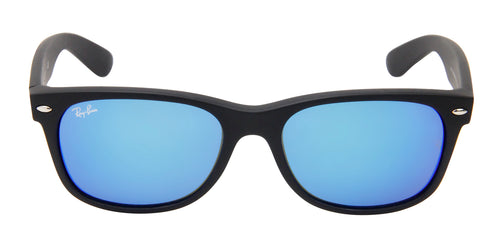 Ray Ban - RB2132 Black Wayfarer Unisex Sunglasses - 55mm