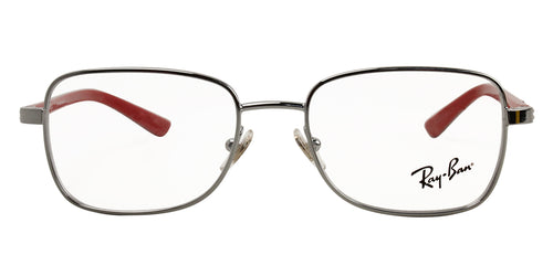 Ray Ban Jr - RY1036 Silver Rectangular Unisex Eyeglasses - 47mm