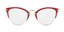 Miu Miu MU50QV Red / Clear Lens Eyeglasses