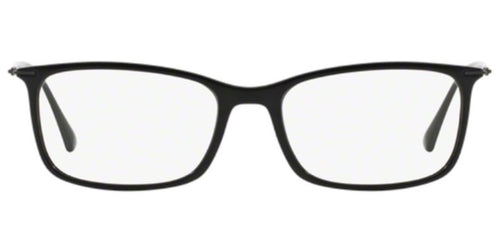 Ray Ban Rx RX7031 Black / Clear Lens Eyeglasses