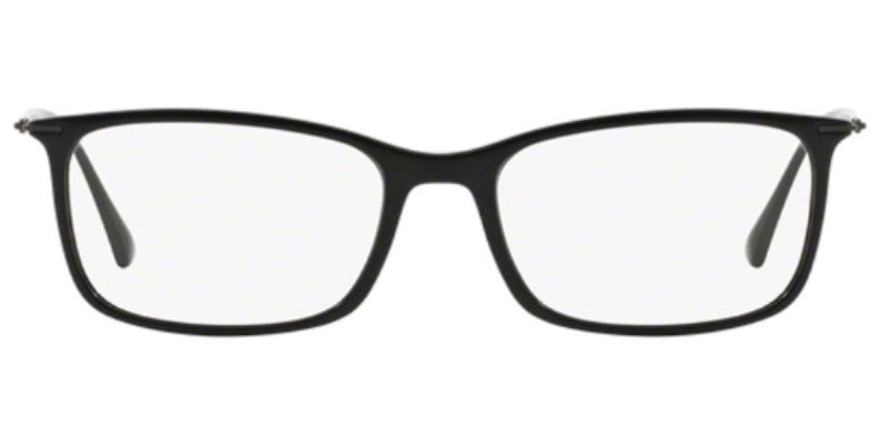 Ray Ban Rx - RX7031 Black Square Unisex Eyeglasses - 53mm