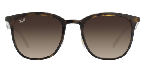Ray Ban - RB4278 Tortoise Rectangular Unisex Sunglasses - 51mm