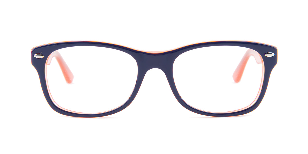 Ray Ban Jr - RY1528 Blue Square Kids Eyeglasses - 48mm