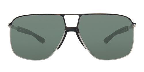 Mykita - Oak Silver/Green Aviator Men Sunglasses - 61mm