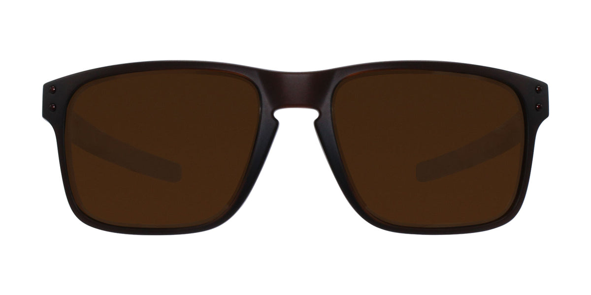 Oakley - Holbrook Mix Brown/Brown Rectangular Unisex Polarized Sunglasses - 57mm