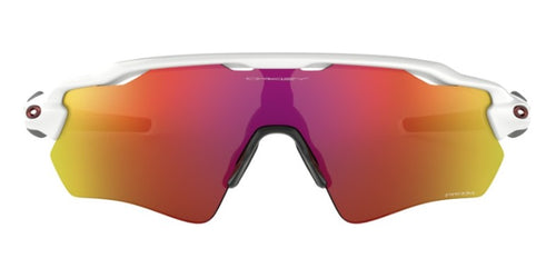 Oakley - Radar EV Path White/Ruby Mirror Wrap Men Sunglasses - 38mm