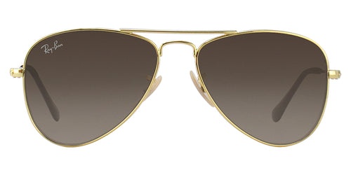 Ray Ban Jr - RJ9506S Gold Aviator Kids Sunglasses - 50mm