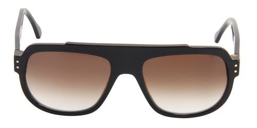 Thierry Lasry The Seventy-Nine Black / Brown Lens Sunglasses
